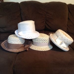 Vintage Straw Hat Bundle